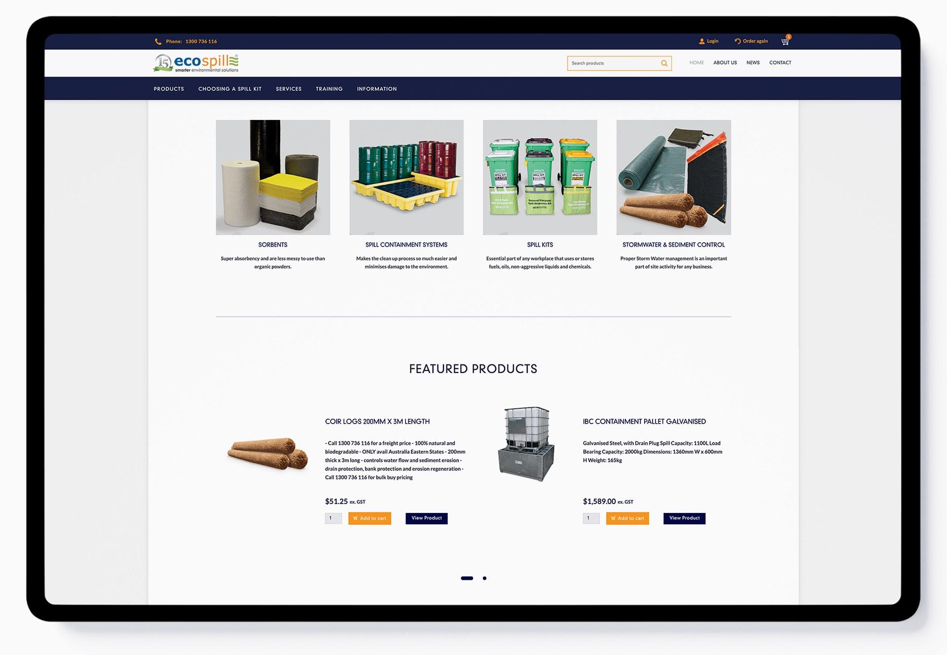 Custom eCommerce Website Design - Kicking Pixels